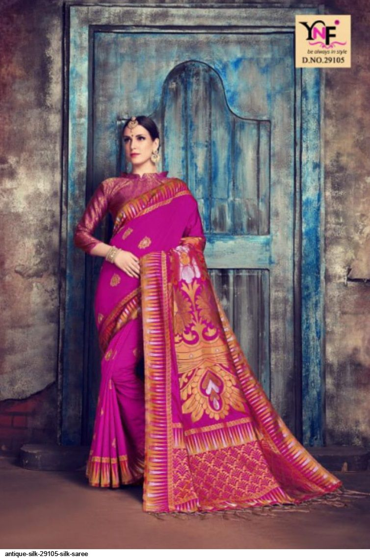 ANTIQUE SILK 29105 SILK SAREE